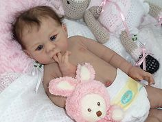 Full Solid Silicone Platinum Baby Girl # 3 of 5 worldwide Reborn NO RESERVE