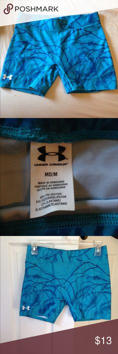 Under Armour spandex Worn once excellent condition Under Armour Shorts