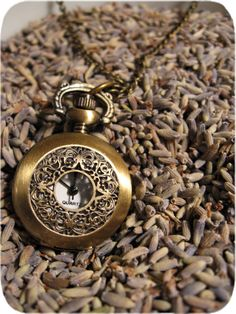 The Isabella Delicate Pocket Watch - $28 oh my goodness in love!!!