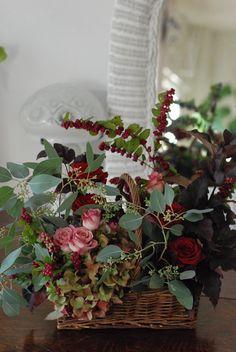 basket floral.