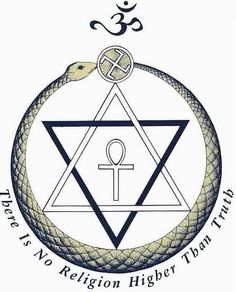 An ancient religious symbol used by the Nazi Party, a fertility ankh, and 6-pointed star make up the Theosophical Society logo. Description from transcendental-meditation21.blogspot.com. I searched for this on bing.com/images