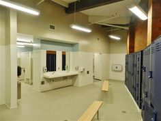 Lindbergh High School Pool changing facilities.  http://architecturehdt.co.nz/pools/