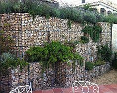 gabion retaining wall terraced http://www.gabion1.com.au