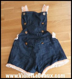 DIY Cute Overalls From Scratch Sewing Pattern