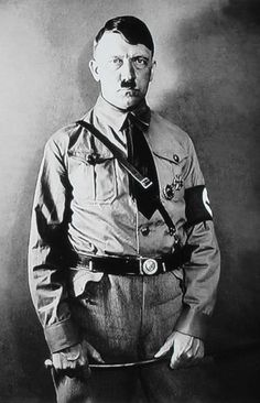 Adolf Hitler calling himself a NATIONAL SOCIALIST was the leader of the Nazi party. He was chancellor of Germany from 1933 to 1945 and dictator of Nazi Germany (as Führer und Reichskanzler) from 1934 to 1945. He was at the centre of the founding of Nazism, World War II, and the Holocaust.