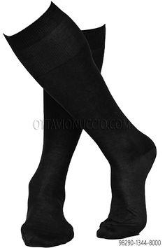 100% black lisle cotton socks. #menswear #menstyle info@ottavionuccio.com