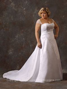 Plus Size; Wedding Dress