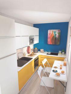 Aménager une cuisine étroite - Côté Maison