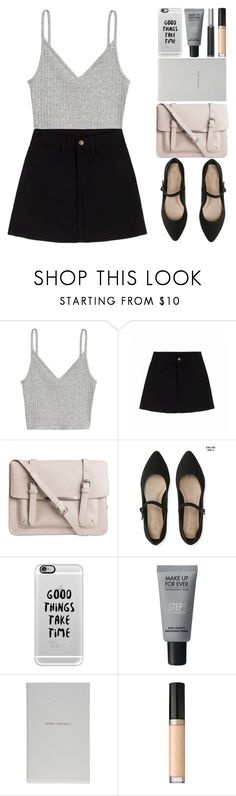 """""""Happy Thanksgiving & RTD!🍗 💕"""" by britney-brit ❤ liked on Polyvore featuring H&M, Pieces, Aéropostale, Casetify, MAKE UP FOR EVER, Smythson, Too Faced Cosmetics and Giorgio Armani"""
