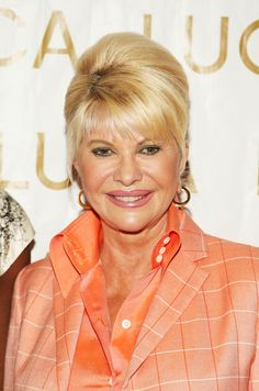 Ivana Trump Photos - Ivana Trump backstage at the Luca Luca Spring 2009 fashion show during Mercedes-Benz Fashion Week at The Promenade, Bryant Park on September 2008 in New York City. John Trump, Donald Trump, Ivana Trump, Trump Photo, Orange Is The New Black, Celebs, Celebrities, Elvis Presley, Backstage