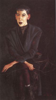 Clemens Gröszer. Bildnis A. P. (III). 1987 - Kunst in der DDR / Werke (Auswahl)
