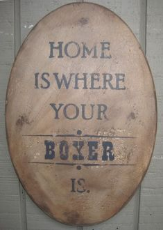Boxer Home ♡