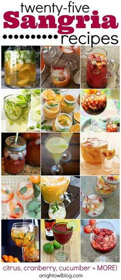 Get ready! National Sangria Day is Friday, Dec. 20! >> 25 Sangria Recipes  @Kaitlin Sagar-Smith