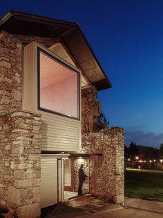 Stone tannery building transformed by Arrokabe Arquitectos into cultural venue