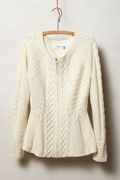esterel cardigan / anthropologie