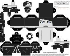 Cubee - Quorra by CyberDrone on DeviantArt