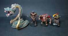 Tancrede painting Conan miniatures (Monolith boardgame) - Page1