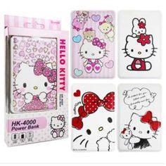 Hello Kitty 4000mAh Potable Backup Battery Charger iPhone Galaxy Cell Phone #Hellokitty