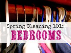 Organizing Life with Less: Spring Cleaning 101: Bedrooms