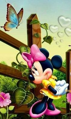 DISNEY FANS UNITE: has members. We are here to celebrate and honor anything Disney. Mickey Mouse Wallpaper, Cartoon Wallpaper, Disney Wallpaper, Flower Wallpaper, Minnie Mouse Pictures, Mickey Mouse Images, Mickey Mouse And Friends, Mickey Mouse Kunst, Minnie Mouse Cartoons