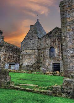 Inchcolm Abbey, Scotland.