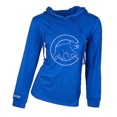 Chicago Cubs Women's Retreat Hooded Top