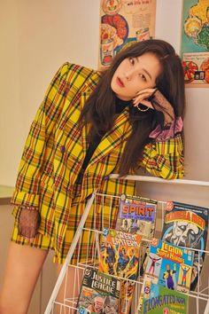 Seulgi x Sinb x Chungha x Soyeon 'Wow Thing' HQ Teasers. Kpop Girl Groups, Korean Girl Groups, Kpop Girls, Kpop Fashion, Korean Fashion, Asian Music Awards, Divas, Kang Seulgi, Kim Yerim