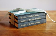 F Scott Fitzgerald book set - The Great Gatsby, This Side of Paradise, Tender is the Night - SOLD! :)