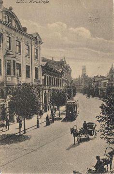 Kornstrasse. Libau.