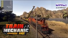 Train Mechanic Simulator 2017 Take your opportunity as real Train Mechanic. Find locomotives around game world that needs your help and repair them in one of 3 workshops localized in huge 25 km2 open world. You will be face all types of damages in all genres of trains: Diesel, Electric and even Old-School Steam units. #TrainMechanicSimulator2017 #Steam #pc #Play_Way #YouTube