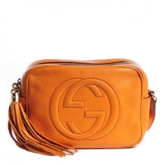 Soho disco orange cross body bag Gently used, very slight signs of wear on the back of the bag (pictured) Gucci Bags Crossbody Bags
