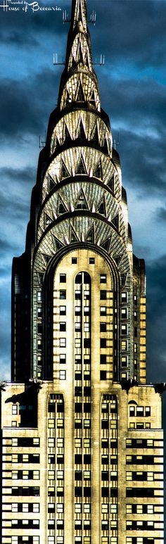 ~Chrysler Building - 1930 - Manhattan, New York, United States - 1,047ft., 32 Elevators | House of Beccaria
