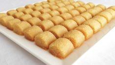 tahinli-irmikli-kesme-tatli-tarifi Cornbread, Iftar, Ethnic Recipes, Desserts, Food, Kuchen, Millet Bread, Tailgate Desserts, Deserts