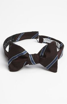 John W. Nordstrom® Silk Bow Tie available at #Nordstrom