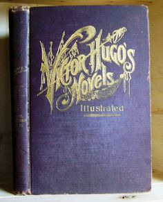 Novels of Victor Hugo Illustrated Antique by CrookedHouseBooks