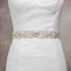 Stunning New Fashion Lacing Back Beaded Crystals And Sequins Wedding Sash Bridal Belt Diamond Bridal Sash Pearl Bridal SashS18 Online with $62.82/Piece on Yupan's Store | DHgate.com