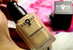 TEST: BRONX COLORS - vodeodolný make-up a trvácny rúž - KAMzaKRÁSOU.sk