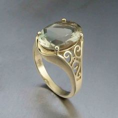 Oregon Sunstone Ring  by DFJD - would like to see in silver or platinum