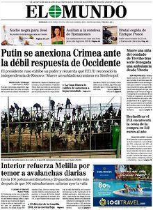 El Mundo http://www.elmundo.es/index.html?a=4d8145464e9051b77ce49fca405008db&t=1420285495