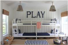 Like this idea for a play room!