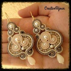 Soutache earrings CreativeBijoux