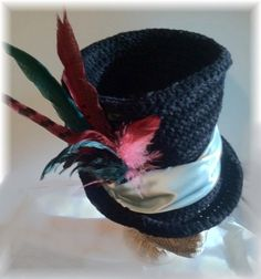 The Best Top Hat Crochet Pattern Steampunk Bohemian by Shenanagans