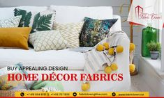 Looking to buy quality fabrics for your home decor at a discounted price, all you need to do is bring a screenshot of any of our social media page liked to avail 10% discount on our entire fabric collection. • Best price • Huge Variety of fabric online Fabric Town is a well-known online store, which has a vast collection of home décor items, draperies, 3pc suiting fabric, blankets, fancy laces, fabric and many more items. For more information, give us a call @ +1 416 694 8191 Looking To Buy, Fabric Online, Home Decor Items, Decoration, Blankets, Fabrics, Social Media, Fancy, Throw Pillows