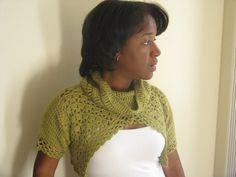 Great #crochet shrug pattern for Summer, Fall, Winter or Spring.