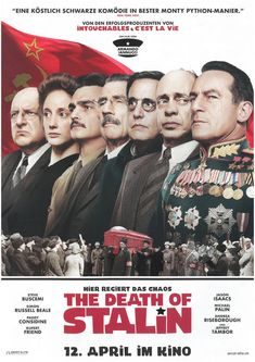 THE DEATH OF STALIN 2018 - ORIG. FILMPOSTER A4 CINEMA AD