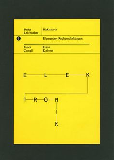Wolfgang Weingart | Poster & Cover & Typo