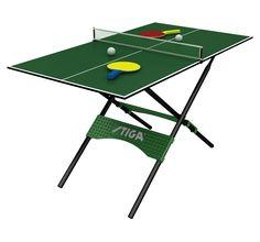 Stiga Mini Pong Table Tennis Ping Pong Table Portable New e9c91341b8d46