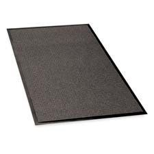 Genuine Joe : Indoor/Outdoor Mat, Rubber Cleated Backing, 4'x6', Charcoal -:- Sold as 2 Packs of - 1 - / - Total of 2 Each by Genuine Joe. $245.98. Genuine Joe : Indoor/Outdoor Mat, Rubber Cleated Backing, 4'x6', Charcoal  Waterguard Mat is designed for indoor and outdoor use. Castellated carpet surface provides scraping action, removing dirt from shoes and trapping dirt and moisture. Rubber-cleated backing provides stability and durability. Rubber borders strengthen and enhance ...