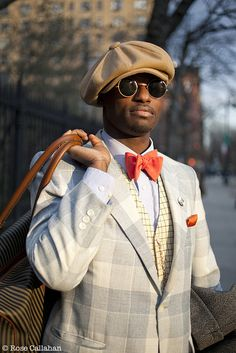 The Dandy Portraits: The Lives of Exquisite Gentlemen Today by Rose Callahan Pop Fashion, Mens Fashion, Fashion Ideas, Men Dress Up, Dandy Style, Lord, Dapper Dan, Winter Light, Well Dressed Men