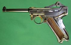 1900 Presentation Luger. Loading that magazine is a pain! Get your Magazine speedloader today! http://www.amazon.com/shops/raeind